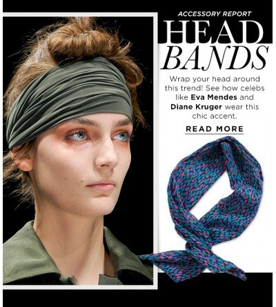 Make A Boho-Inspired Statement In A Stylish Head Scarf