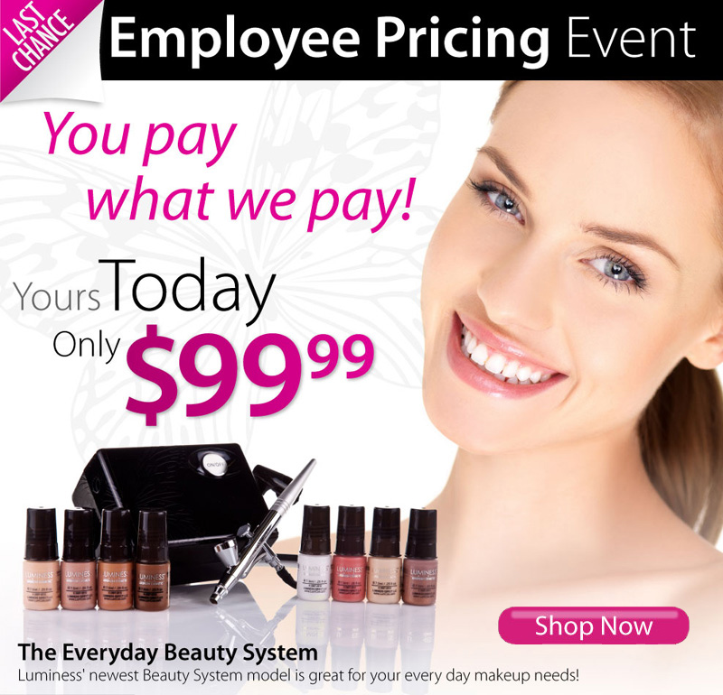 Employee Pricing Event. You Pay What We Pay.