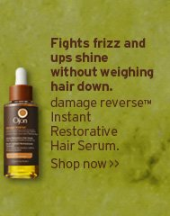 Fights frizz and ups shine without weighing hair down damage  reverse Instant Restorative Hair Serum shop now