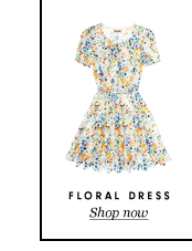 Juicy Couture Floral Crepe Wrap Dress at $198.