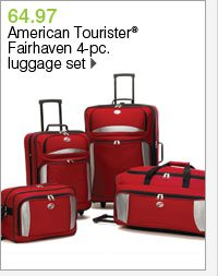 64.97 American Tourister® Fairhaven 4-pc. luggage set. Shop now.