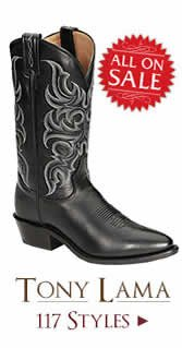 Shop All Mens Tony Lama Boots on Sale