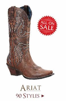 Shop All Womens Ariat Boots on Sale