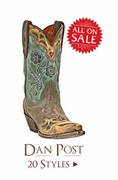 Shop All Womens Dan Post Boots on Sale