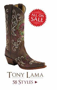 Shop All Womens Tony Lama Boots on Sale