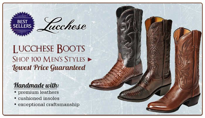 Shop All Mens Lucchese Boots