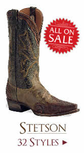 Shop All Mens Stetson Boots on Sale