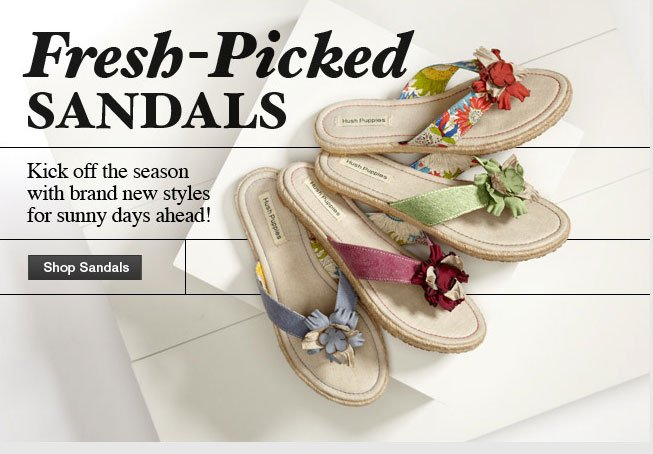 Fresh-Picked Sandals