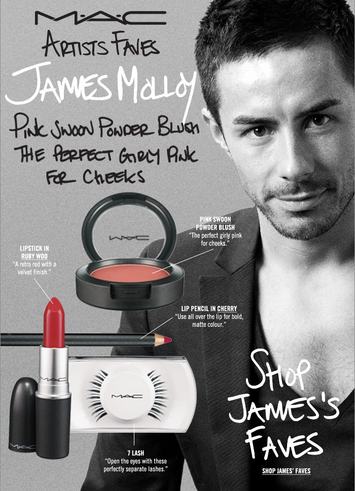 """Pink Swoon Powder Blush - the perfect girly pink for cheeks""  Shop James' Faves"