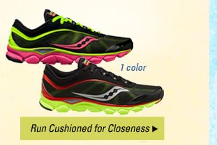 Run Cushioned for Closeness