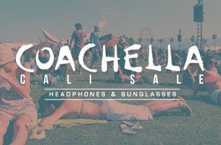 Coachella Cali Sale: Headphones & Sunglasses