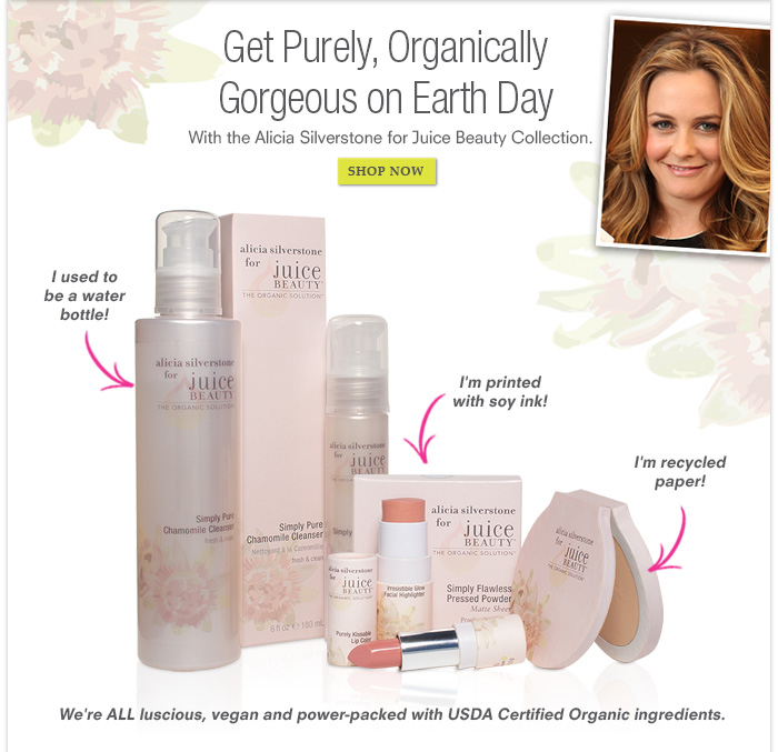 Get Purely, Organically Gorgeous on Earth Day