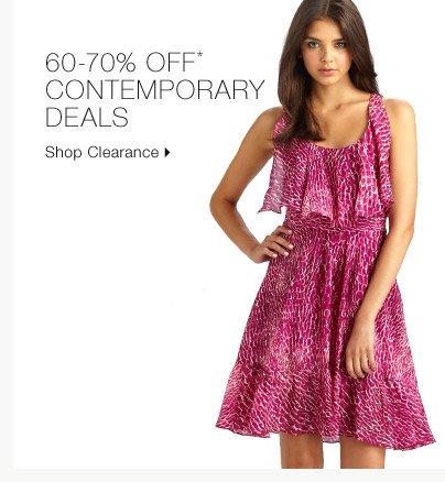 60-70% Off* Contemporary Deals