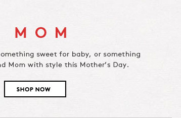 Get inspired with perfect gifts for mom, kids, and more...just in time for Mother's Day.
