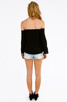 Edie Off Shoulder Top $29