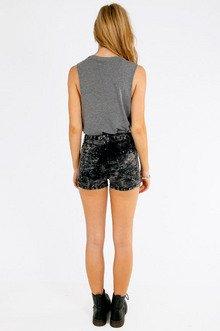 Alma High Waisted Shorts $33