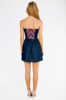Mirage Chambray Dress $32
