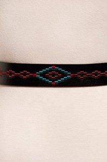 Navi Stitched Belt $12