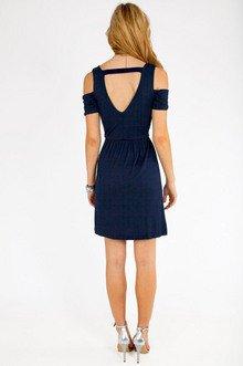 Vickii Cutout Shoulder Dress $25