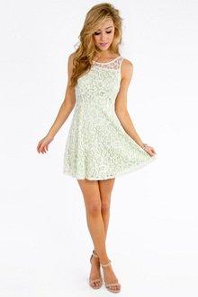 Lianna Lace Skater Dress $26