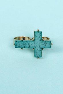 Vintage Cross Ring $6