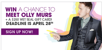 Win A Chance To Meet Olly Murs