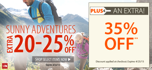Sunny Adventures! An EXTRA 20-25% OFF select items!