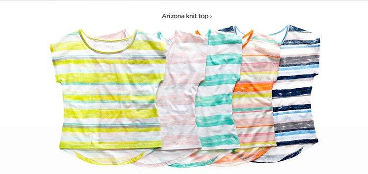 Arizona knit top ›