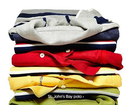 St. John's Bay polo ›