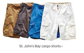 St. John's Bay cargo shorts ›