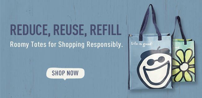 Shop Recycle Shopper Totes