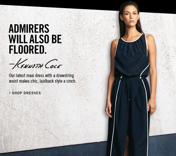 ADMIRERS WILL ALSO BE FLOORED. // SHOP DRESSES