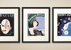 Original Turn-of-the-Century Harper's Bazaar Covers