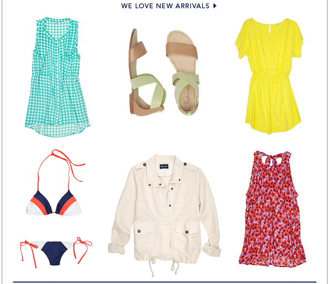 We Love New Arrivals
