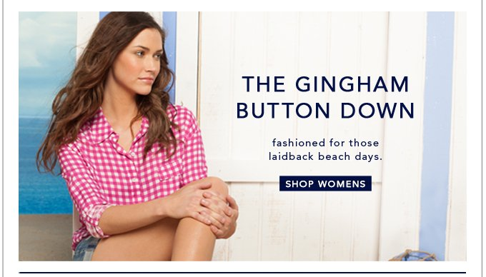 The Gingham Button Down