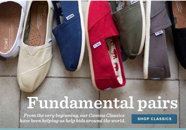 Fundamental pairs - Shop Classics