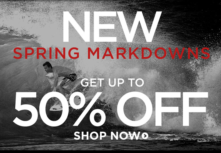 New Spring Markdowns