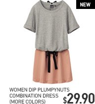 WOMEN'S PLUMPYNUTS COMBINATION DRESS