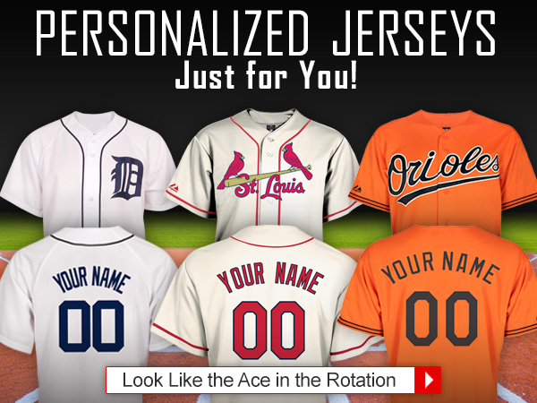 Personalized Jerseys Just for You