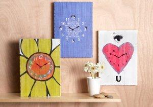 Reclaimed Wooden Clocks