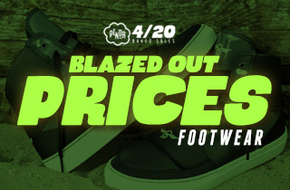 Blazed Out Prices: Footwear