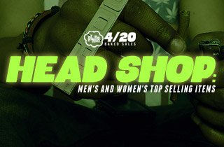 Head Shop: Men's and Women's Top Selling Items