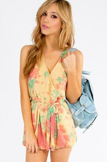 Playing With Colors Romper $37