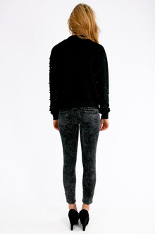 Armed With Spikes Sweater $50