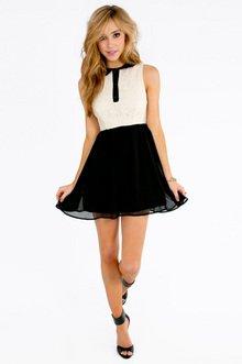 Reign On Lace Skater Dress $23