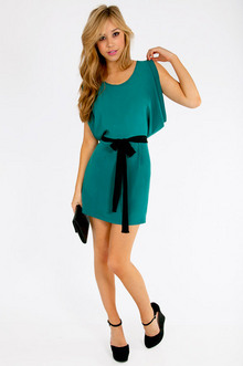 Dorothy Drape Dress $36