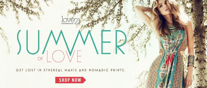 Love21 Summer of Love - Shop Now