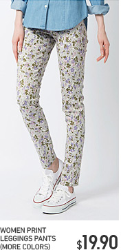 WOMEN PRINT LEGGINGS PANTS