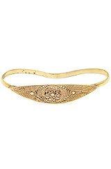 The Evil Eye Hand Bracelet In Gold