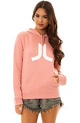 The Icon Pullover Hoody in Rose Blush